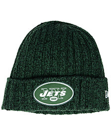 New Era Women's New York Jets On Field Knit Hat