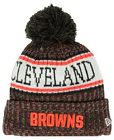 New Era Boys' Cleveland Browns Sport Knit Hat