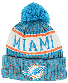 New Era Boys' Miami Dolphins Sport Knit Hat