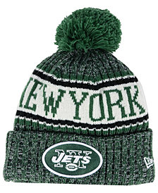 New Era Boys' New York Jets Sport Knit Hat