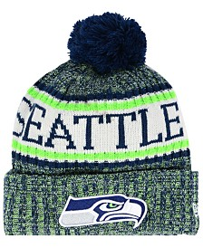 New Era Boys' Seattle Seahawks Sport Knit Hat
