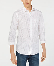 Club Room Men's Grafton Dot-Print Shirt, Created for Macy's