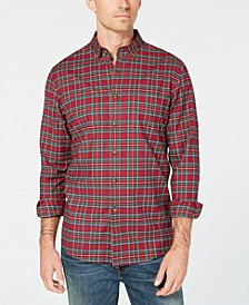 Men's Maxwell Tartan Plaid Shirt, Created for Macy's