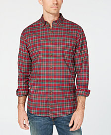 Club Room Men's Maxwell Tartan Plaid Shirt, Created for Macy's