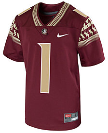 Nike Florida State Seminoles Replica Game Jersey, Big Boys (8-20)