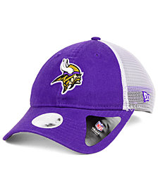 New Era Women's Minnesota Vikings Trucker Shine 9TWENTY Cap