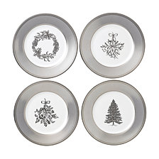 Wedgwood Winter White Salad Plate Set/4