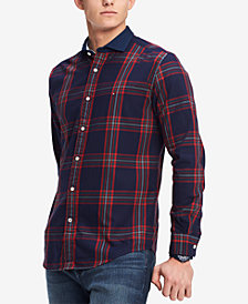 Tommy Hilfiger Men's Vaga Classic-Fit Plaid Shirt