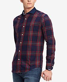 Tommy Hilfiger Men's Vaga Classic-Fit Plaid Shirt