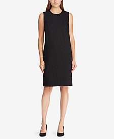 Lauren Ralph Lauren Ponté-Knit Shirtdress