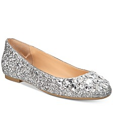 Jewel Badgley Mischka Mathilda Flats