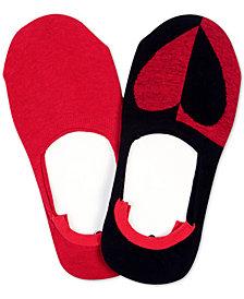 HUE® 2-Pk. Sneaker Liner Socks