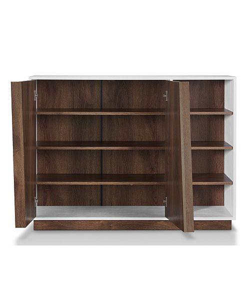 Furniture Of America Vega Modern Shoe Cabinet Home Macys