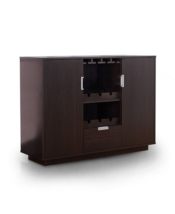 Furniture of America Porter Modern Wine Rack Buffet