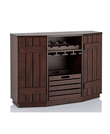 Layfield Transitional Wine Rack Buffet
