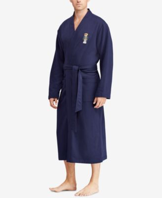 Men's Polo Bear Fleece Robe