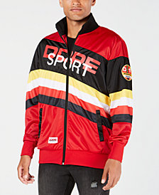 DOPE Men's Graphic Logo Pitstop Jacket