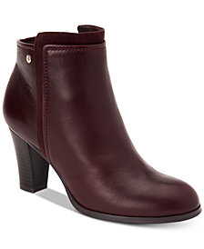 Giani Bernini Bellee Memory Foam Ankle Booties, Created for Macy's