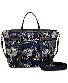 Radley London Longleat Palms Zip-Top Multiway Satchel