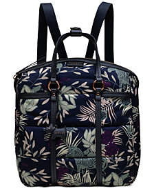 Radley London Longleat Palms Zip-Top Backpack