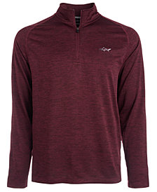 Attack Life by Greg Norman Soft Quarter-Zip Shirt, Created for Macy's