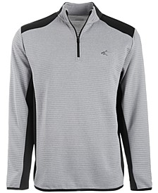 Men's Ottoman Quarter-Zip Shirt, Created for Macy's