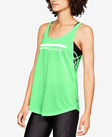 Under Armour Whisperlight Strappy-Side Tank Top