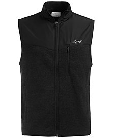 Attack Life by Greg Norman Men's Sweater Fleece Vest, Created for Macy's
