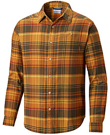 Columbia Men's Rapid Rivers II Checked Long-Sleeve Shirt
