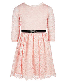 Sequin Hearts Big Girls Lace Dress