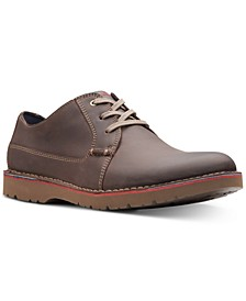 Men's Vargo Plain Leather Oxfords, Created for Macy's