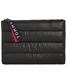 Tommy Hilfiger Ames Heavy Puffy Nylon Pouch Wallet