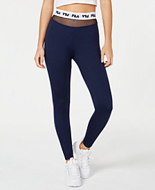 Fila Mesh-Inset Leggings