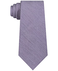 DKNY Men's Solid Slim Tie