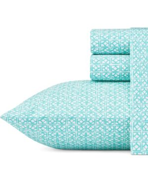 Trina Turk Cascara Aqua Full Sheet Set Bedding 6245766