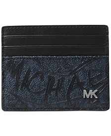 Michael Kors Men's Jet Set Printed Card Case
