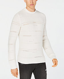 I.N.C. Men's Classic Fit Rage Sweater, Created for Macy's