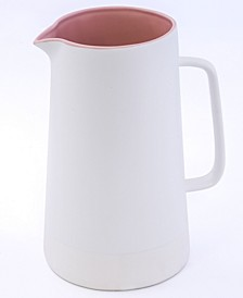 CLOSEOUT! Pink Ceramic Pitcher