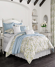 Piper & Wright Rosalie Blue California King Comforter Set