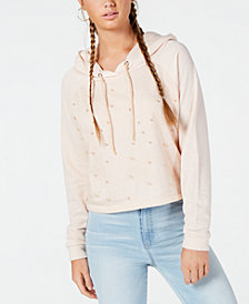 Gypsies & Moondust Juniors' Beaded Hoodie