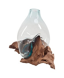 Driftwood Glass Bottle