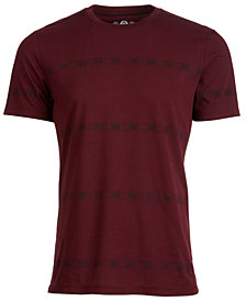 American Rag Men's Textured Stripe T-Shirt, Created for Macy's