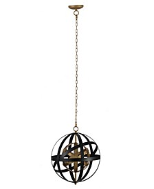 Pallas Spheres Iron Chandelier