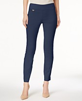 separation shoes c6095 5624a Alfani Tummy-Control Pull-On Skinny Pants, Created for Macy s