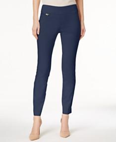 e1209fa9d0 Alfani Petite Tummy-Control Pull-On Skinny Pants, Created for Macy's