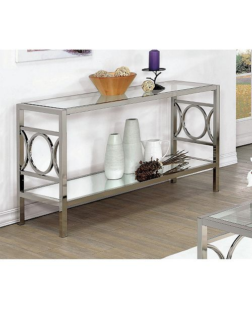 Furniture Of America Beller Console Table Quick Ship