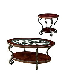 Azea 2pc Table Set, Quick Ship