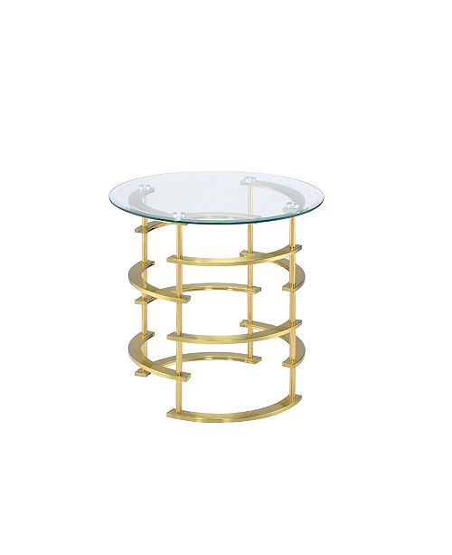 Furniture of America Intra End Table, Quick Ship
