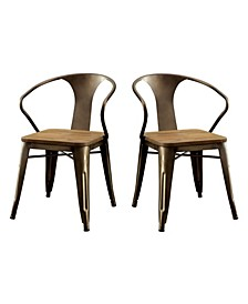 Mayfield Natural Elm Dining Chair (Set of 2)