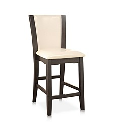 Sampson Faux Leather Counter Stool (Set of 2)